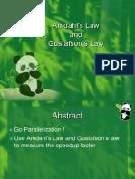 AmdahlLaw&GustafsonLaw-ChengyiWu