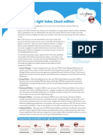 Right Sales Cloud Edition