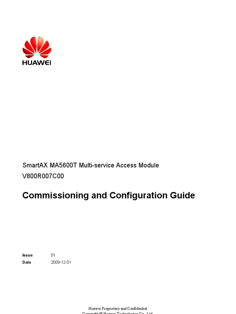 Commissioning And Configuration Gpon Multiprotocol Label Switching