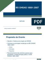 Upgrade OSHAS 18001