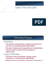 Copy of Project Cost Estimation