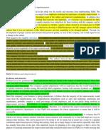 Part D & E TQM Assignment