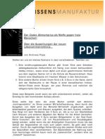 Der Codex Alimentarius Als Waffe