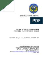 Pedoman Operasional PENDIDIK PAUD