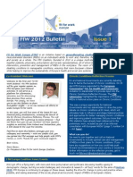 FfW Bulletin #1 April 2012