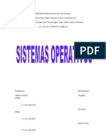 Trabajo de Sistema Operativo