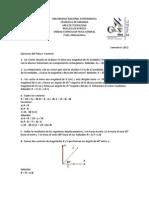 ejercicios propuestos vectores