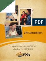 VNA Annual Report 2010