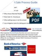 The Short Sale Process Guide by Marshall Carrasco Reno NV