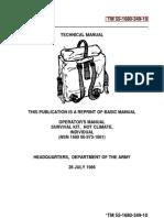 TM 55 1680 349 10 Survival Kit Hot Climate