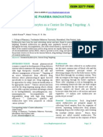 Resealed Erythrocytes as a Carrier for Drug Targeting