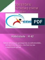 Questões comentadas ENEM 2011 2