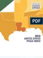 2012 United States Peace Index Report