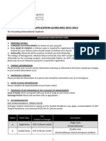 2. Exchange Program Application Guidelines 2012-2013 (China)