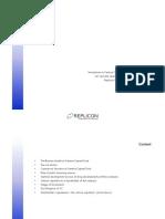 2003-05 Venture Capital Business Model Replicon