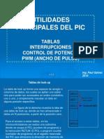 Principales Utilidades de Un Pic