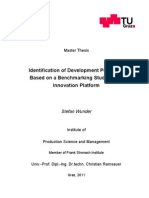 Identification of Development Potentials Based on a Benchmarking Study for an Innovation Platform