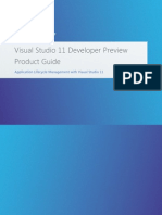 Visual Studio 11 Dev Preview Product Guide v1