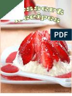 From Cookbook Club Dessert Recipes