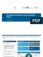 Emerging Enterprise Cloud Adoption Paths