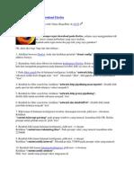 Cara Mempercepat Download Firefox