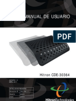 Hitron CDE-30364 Users-Guide 2011-05-10 SPANISH