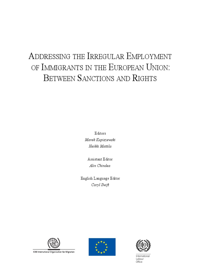 Adressing the Irregular Employment | Immigration | Migrant Worker