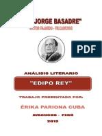 Analisis Literario de La Obra Edipo Rey