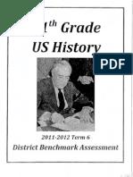 U.S. History - Benchmark VI