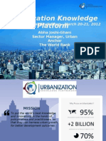 Abha Joshi Ghani_Urbanization Knowledge Platform