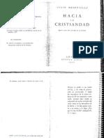 HACIA LA CRISTIANDAD-MEINVIELLE