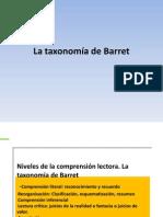 La taxonomía de Barret