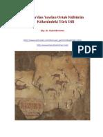 Altaydan Dünyaya Yayılan Kültürün Odağındaki Türk Dili H. Berkmen
