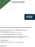 06 - Teorema de Hall 2011prova2