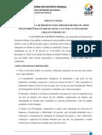 Edital FAC 2012 01 - Criação e Produção