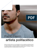 PABLO FIERRO - INTERVIEW BINTER MAGAZINE