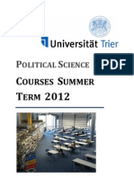 Courses Summer Term 2012-1