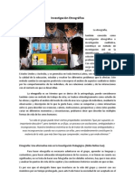 Investigación Etnográfica D.H