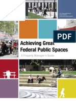 Achieving Great Federal Public Spaces