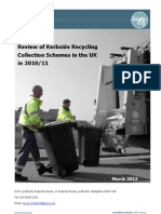 (WYG) Report - Review of Kerbside Recycling Collection Schemes in the UK in 2010-11