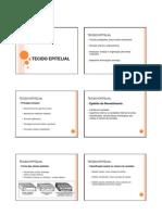 Aula 2 - Histologia - Tecido Eptelial
