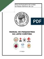 Manual de Psiquiatria da LAPSI Curitiba - 1ª Edição