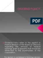 Div Policy Ymt