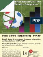 "IEA - Palestra ""Marketing Esportivo"""