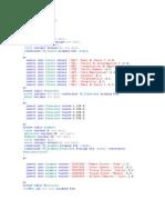 Create Database ABACO