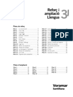 Reforç i ampliació Llengua 3 Primaria