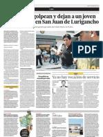 23.04 El Comercio El 71porciento de los limeños aprueba el reordenamiento del tránsito