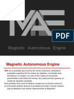 Magnetic Autonomous Engine