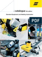 Catalogues Welding Equipment 5th Edition