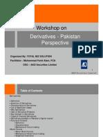 Derivative Pakistan Perspective
